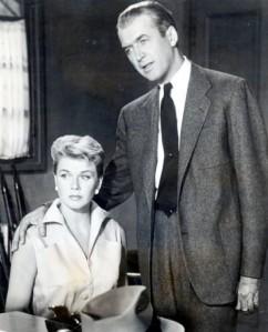 Doris Day and Jimmy Stewart