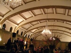 Vicky's wedding reception